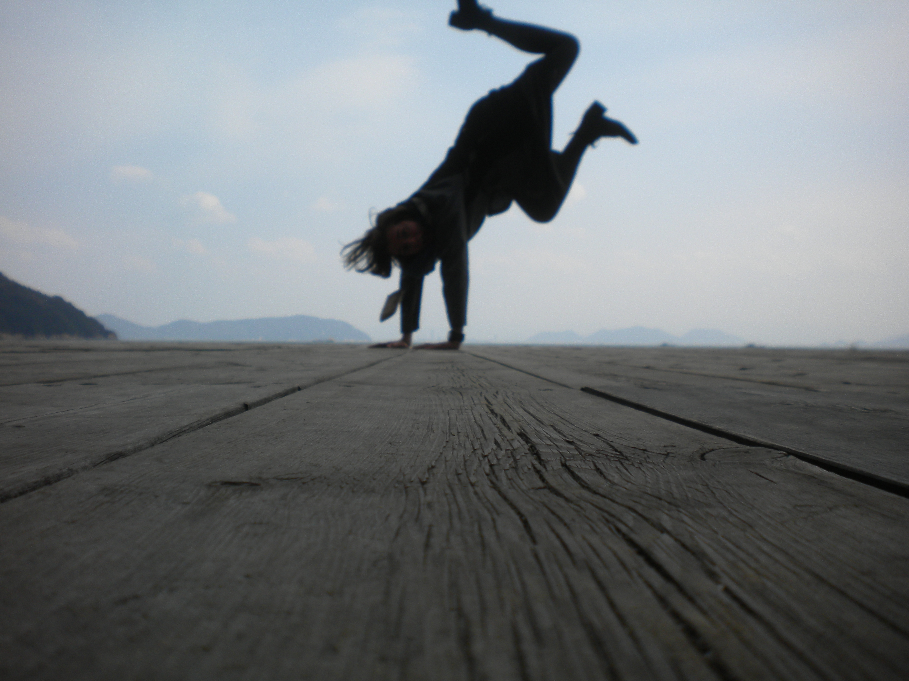 Attempted Handstands